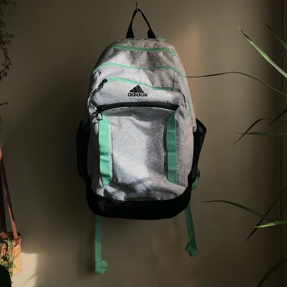 619c37b72e Adidas - Excel IV Backpack - Gray/Mint/Black. M_5c46555bbaebf67d0ce8c348